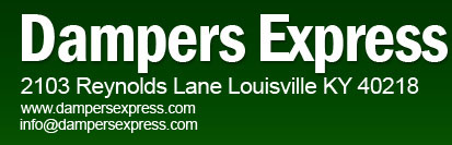 Damper Express - Louiville KY - Manufacturer of dampers